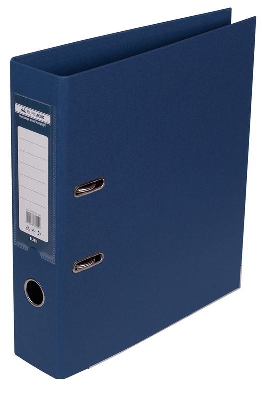 Регистратор 7 см Buromax PP А4 двухсторонняя темно-синий (BM.3001-03c)
