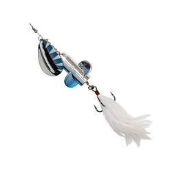 Блешня D•A•M EFFZETT® Rattlin Spinner №5 18г (колір - Silver Blue)