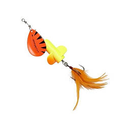 Блешня D•A•M EFFZETT® Rattlin Spinner №5 18г (колір - Fluo Yellow Orange)