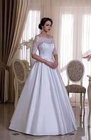 """Свадебное атласное платье """"Оливия-1"""""""