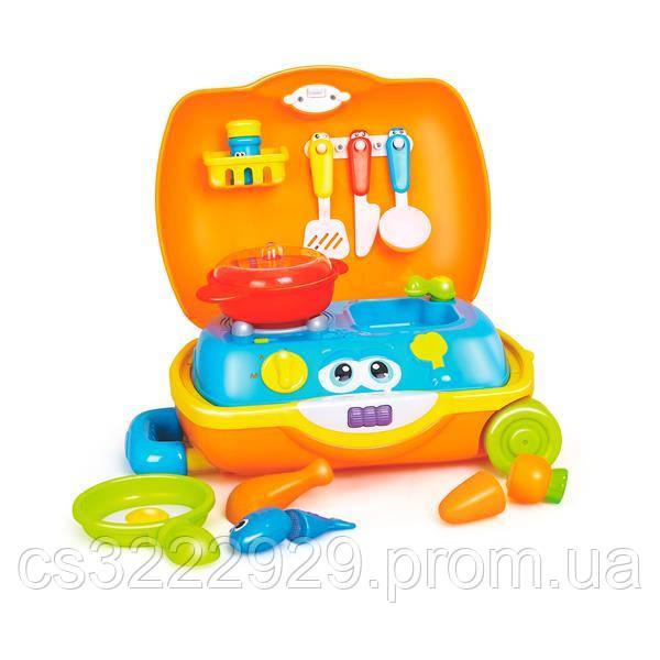 Игровой набор посуды в чемодане Hola Toys (3108)