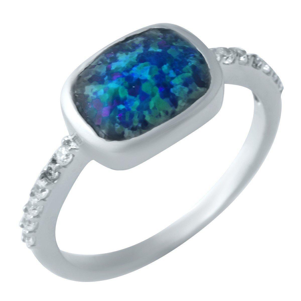 Серебряное кольцо DreamJewelry с опалом (1922842) 18.5 размер