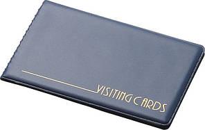 Визитница Panta Plast 24 визитки PVC темно синий (0304-0001-02)