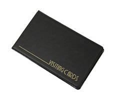 Визитница Panta Plast 24 визитки PVC черный (0304-0001-01)