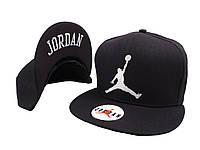 Чорна кепка Jordan