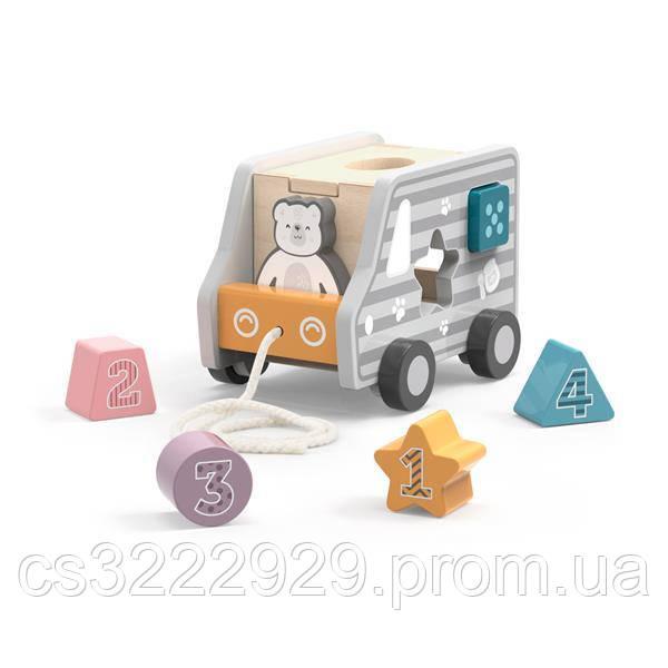 Машинка-сортер Viga Toys PolarB  (44041)