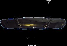 Зимняя накладка на решетку радиатора Daewoo Lanos (глянцевая)