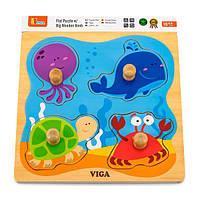 """Пазл Viga Toys """"Морские обитатели"""" (50132)"""