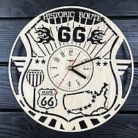 Настенные деревянные часы 7Arts Трасса 66 CL-0431, КОД: 1474593