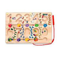 """Развивающая игрушка Viga Toys Лабиринт """"Цифры"""" (50180), фото 1"""