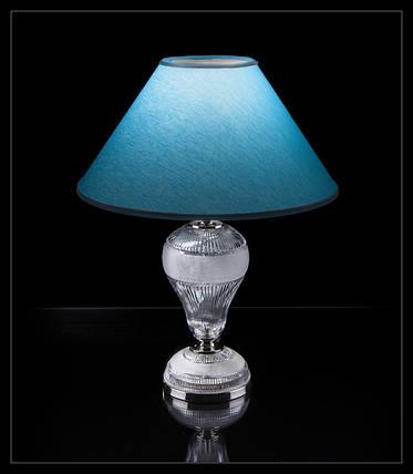 Настольная лампа хрустальная, фото 2