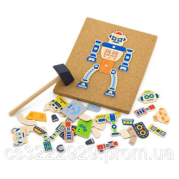 """Набір для творчості Viga Toys """"Робот"""" (50335)"""