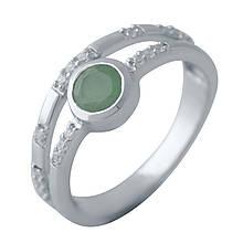 Серебряное кольцо DreamJewelry с натуральным изумрудом (2042365) 16.5 размер