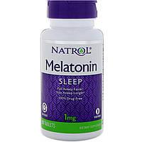 Мелатонин, Natrol, Melatonin, 1 мг, 90 таблеток 10847, КОД: 1535473