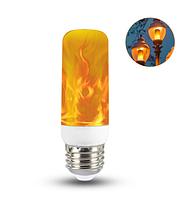 Лампочка с имитацией огня 3Вт Е27, 3 режима, фото 1