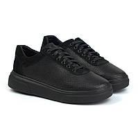 Черные женские кроссовки кеды кожаные рептилия обувь демисезонная Rosso Avangard Mozza Riptile Black Leather