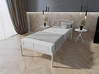 Кровать MELBI Лаура Односпальная 80х200 см Белый, КОД: 1388824