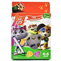Игра с маркером Vladi Toys 44 Cats. 4-6 лет VT5010-16 укр, КОД: 1331804