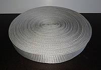 Лента для стяжных ремней 40 мм серая (рулон 50м) Толщина 1.5 мм