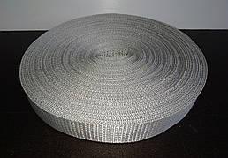 Стрічка для стяжних ременів 40 мм сіра (рулон 50м) Товщина 1.5 мм