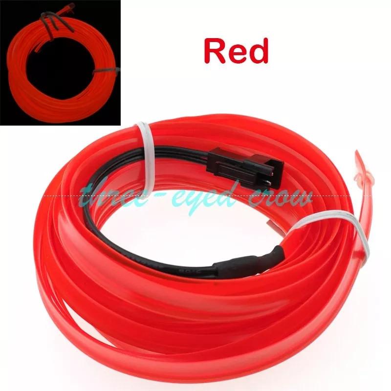 Неон Червоний з кантом, для швів 2.3 мм