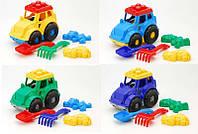 """Набор игрушек для песочницы 0213 """"Кузнечик №2"""" Color Plast, в сетке"""