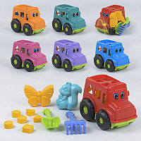 """Набор игрушек для песочницы 0251 """"Бусик №2"""" Color Plast, в сетке"""