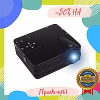 Мини проектор портативный мультимедийный Led Projector W662 H80 проэктор