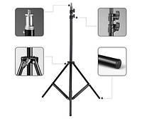 Студийная фото стойка Weifeng WT-803 / Высота 200 см / для крепления студийного света / штатив для лампы