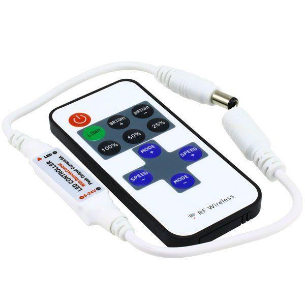 Диммер 6A-RF-11 кнопок 1 канал OEM