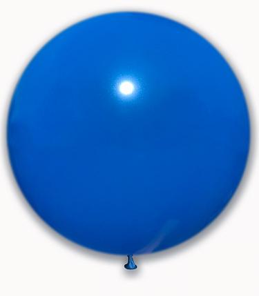 """Шар 21"""" SHOW-ШОУ пастель синий, фото 2"""