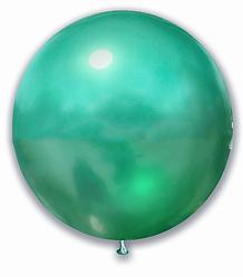 "Шар 21"" SHOW-ШОУ brilliance хром зеленый"