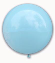 "Куля 36"" (91 см) SHOW макарун Light Blue (блакитний)"
