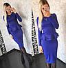 Изысканный костюм юбка+баска (разные цвета), фото 7