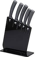 Набор 5 кухонных ножей San Ignacio Black на акриловой подставке