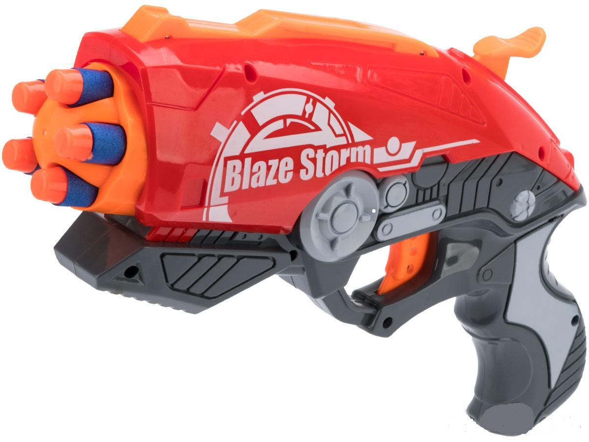 "Пистолет бластер ""Blaze Storm"" с мягкими пулями ZC7099 Nerf Нерф"