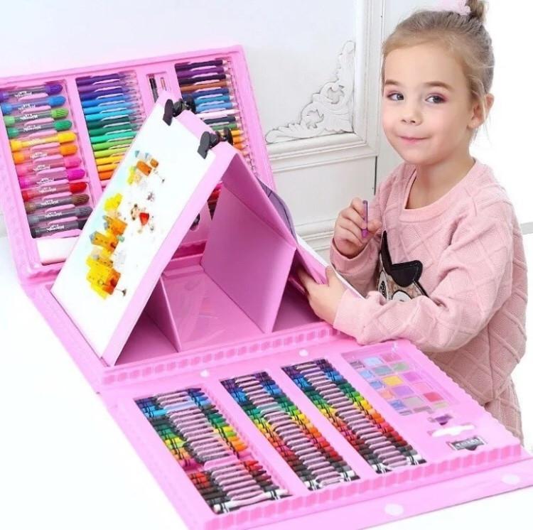 Детский набор для художника 208 предметов от 10 шт