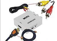 HDMI-RCA(тюльпаны) конвертор переходник