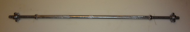 Гриф прямий хромірований довжиною 1,5 м., діаметром 28 мм HJ-A088