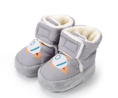 Пінетки зимові для малюків пинетки зимние для малишей для хлопчика сір