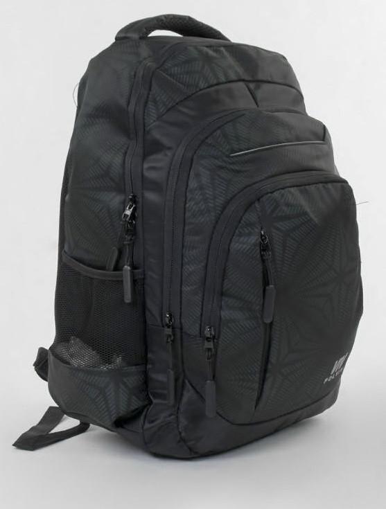 Школьный каркасный рюкзак черный