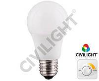 Светодиодная лампа DA60 K2F60T11CE ceramic dimmable 11W 2700К CRI97 Е27 CIVILIGHT 7308