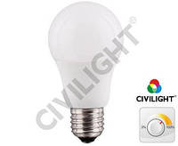 Светодиодная лампа DA60 K2F60T11CE ceramic dimmable, 11вт 810лм 2700К, Е27