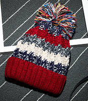 Зимняя женская шапка Разноцветный AL-7983-91, КОД: 1493370