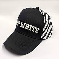 Кепка тракер в стиле Off Side Stripes черная