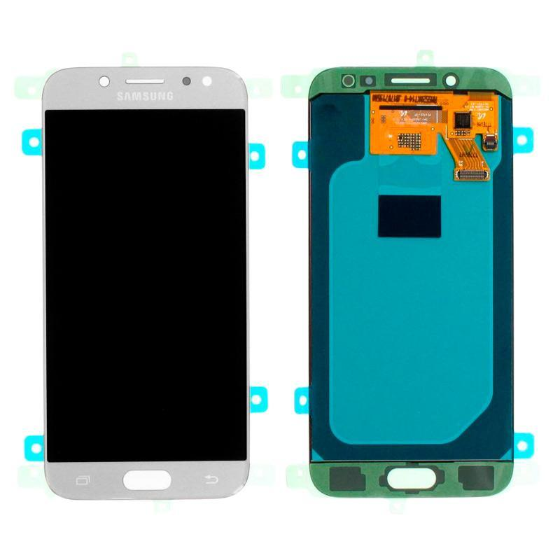 LCD Samsung J530H/J5-2017 + touch Silver (100% Service OR)
