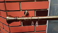 Карниз  кованый одинарный 25 мм  антик Колозео -1,6м, фото 1