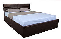 Кровать MELBI Джесика Двуспальная 160х200 см с подъемным механизмом Корчневый KS-022-02-4кор, КОД: 1670533