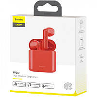Stereo Bluetooth Headset Baseus W09 Red