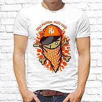 Чоловіча футболка з принтом. Прикольні написи на футболках